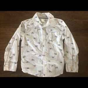 Carter's fisherman button up
